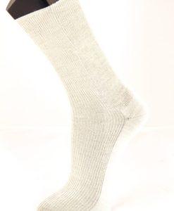 8173 Kiristämätön merinovillasukka l.valkoinen